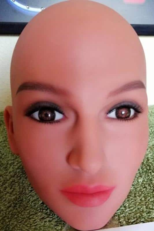 WM Doll Head Number 201